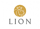 L�we Logo, K�nig Logo, Krone, Gold