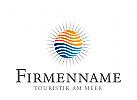 Logo Touristik, Logo Sonne