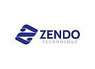 Buchstabe Z Logo