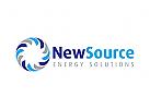 Quelle Logo, Energie Logo, Wasser Logo