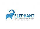 Elefant Logo, Tiere