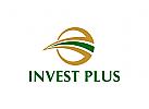 Investitionen Logo, Finanzen, Geld, Banken, Versicherungen, Gold
