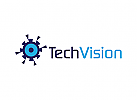 Vision Logo, Optik Logo, Auge Logo, Technologie, Software, Kamera, �berwachung