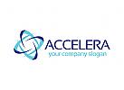 Beschleunigung Logo, Beratung, Geschwindigkeit, K�hlung, Klimaanlage Logo