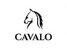 Pferd Logo, Ritter, Pferde, pacer, stabil