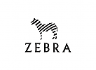 Zebra Logo, Malerei, Design, kreativ, Pferd, Safari, Tourismus, Medien