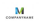 Logo, Abstrakt, Buchstabe, M