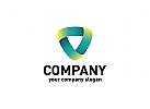 Dreieck Logo, Software Logo, Technologie Logo