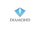 Diamant Logo, königlich, Schmuck, Edelstein
