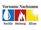 Haustechnik, Heizung, Klima, Sanitär, Solar, Klempner, Bad, Wasser, Feuer, Sonne