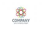 Labor Logo, Bildung, Schule, Biotechnologie Logo