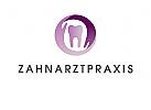 Logo, zahn, H�nde, Kreislauf, dental care