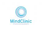 Psychotherapie Logo, Geist Logo, Klinik, Arzt, Psychoanalyse Logo