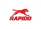 Jaguar Logo, Panther Logo, springen Logo, Puma Logo