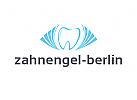 Logo, Zahn, Fl�gel, Zahnarztpraxis