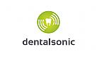 Logo, Zahn, Ultrasonic
