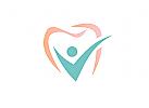 Logo, Zahn, Mensch, Patient, Zahnarztpraxis