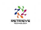 Technologie Logo, Industrie Logo, Recycling Logo