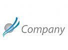Zeichen, Zeichnung, Wellen, Kreis, Spa, Transport, Logistik, Logo