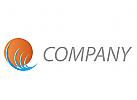 Wellen und Sonne, Reisen Logo