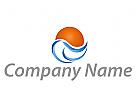 Sonne und Wellen Logo