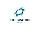 Organization, Group, Medien, Beratung, Kreis, Rund Logo