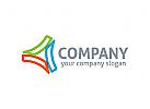 Dreieck Logo, Dreier Logo, Gruppe, Industrie