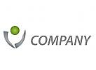 Wappen, Eine Person, Finanzen Logo