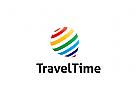 Reisen Logo, Tourismus Logo