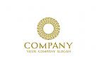 Kreis Logo, Finanzen Logo, Roman Logo