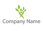 Ökologie, Baum, Pflanze Logo