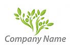 Ökologie, Pflanze, Baum Logo