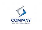Pfeil Logo, Versicherung Logo, Finanzen, Bank, Erfolg Logo