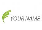 Zeichen, Zeichnung, Wellen, Linien, Pflanzen, Blätter, Logo