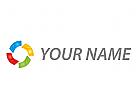 Zeichen, Zeichnung, Symbol, Vision, Technologie, Spirale, Vier, Farben, Logo