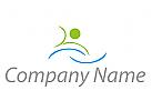 Zeichen, Zeichnung, Symbol, Schwimmer, Person, Bewegung, Sport, Fitness, Logo