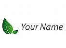 Öko, Zeichen, Zeichnung, Symbol, Person, Blätter, Mensch, Wirbelsäule, Logo