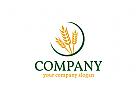 Landwirtschaft logo, Weizen logo