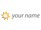 Zeichen, Skizze, Sonne, Energie, Umwelt, Logo