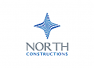 Nord Logo, Stern Logo, Norden Logo, Arktis, Eis Logo