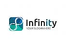 Unendlichkeit, Infinity, bunt Logo