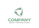 Menschen Logo, Gruppe, Handhabung Logo, Beratung Logo