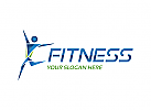 Fitness, Fussball, Buchstabe F Person, Sport Logo