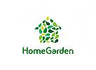 Garten Logo, Haus, Natur Logo