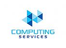 Computing Logo, Daten Logo, Analysen Logo, Beratung Logo