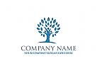 Menschen Logo, Baum Logo, Gruppe Logo