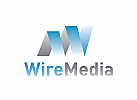 Buchstabe W Logo, Medien Logo