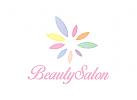 Kosmetik Logo, Pflege Logo, Rosen Logo
