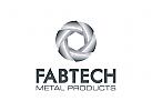 Industrie Logo, Metall Logo