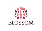Yoga Logo, Massage Logo, Kosmetik Logo